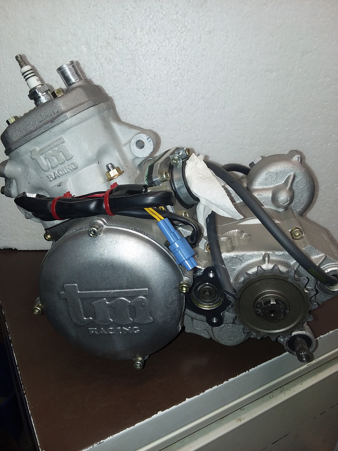TM 85cc engine